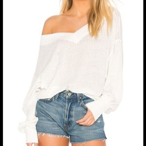 Free People Women's South Side Thermal Oversize Wa